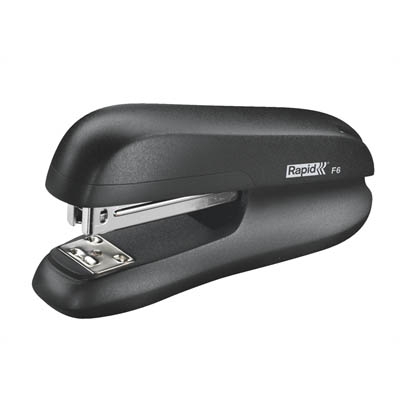 Image for RAPID F6 HALF STRIP STAPLER BLACK from SBA Office National