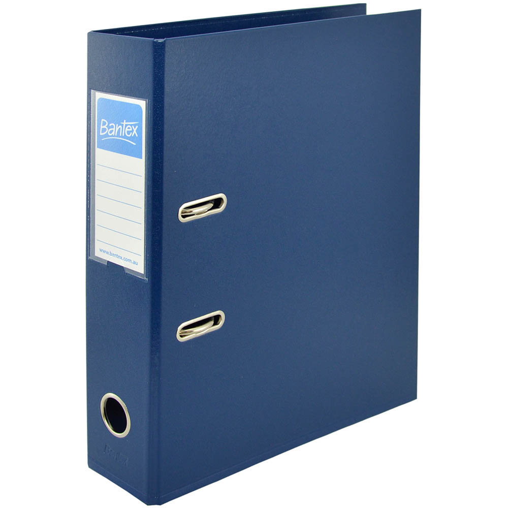 Image for BANTEX LEVER ARCH FILE 70MM A4 BLUE from Office National Perth CBD