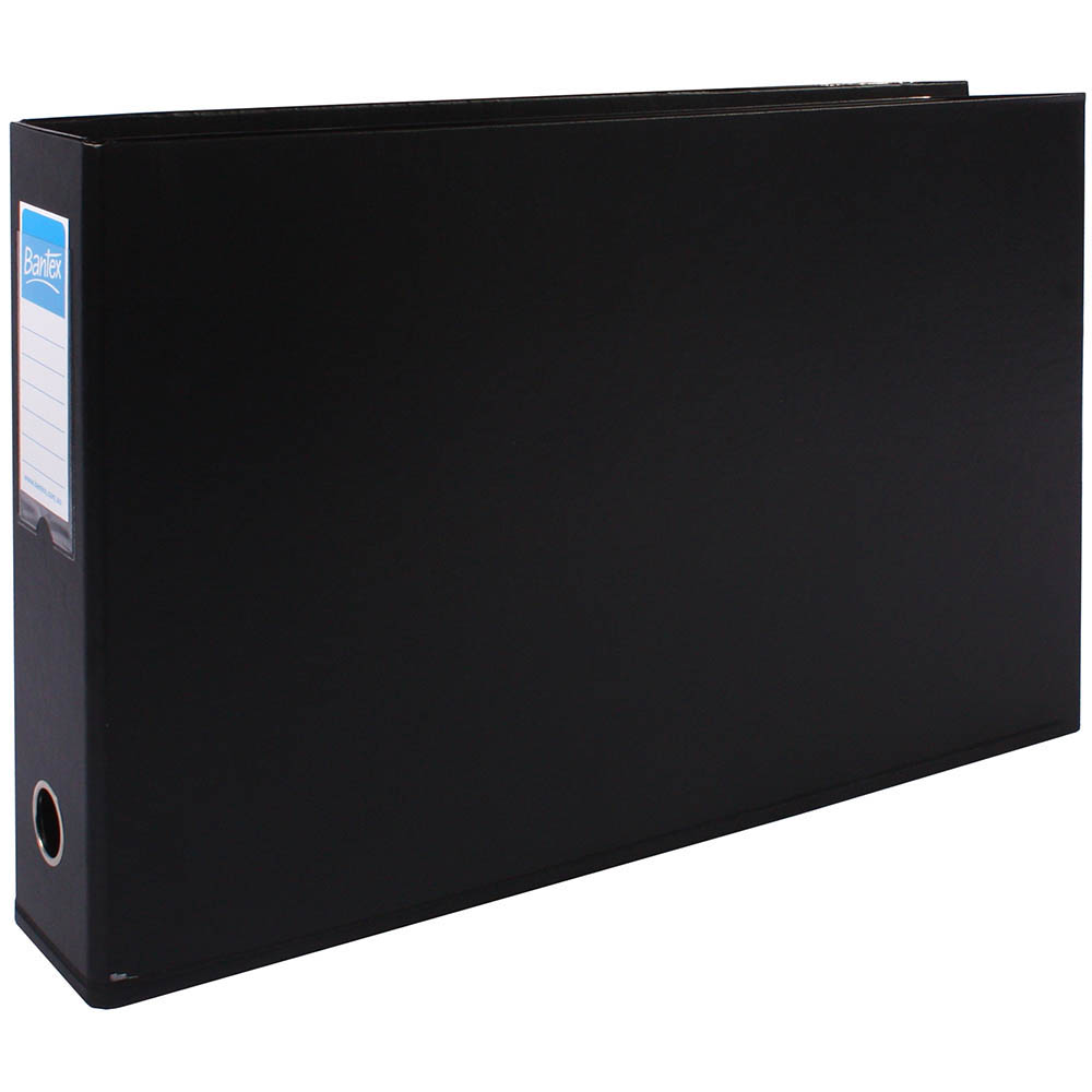 Image for BANTEX LEVER ARCH FILE LANDSCAPE 65MM A3 BLACK from Axsel Office National