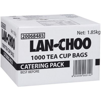 Image for LAN CHOO TEA BAGS STRING AND TAG BOX 1000 from Office National Capalaba