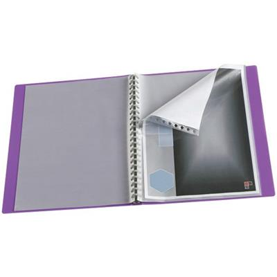 Image for COLOURHIDE MY CUSTOM DISPLAY BOOK REFILL MEDIUM WEIGHT A4 CLEAR PACK 10 from Office National Capalaba