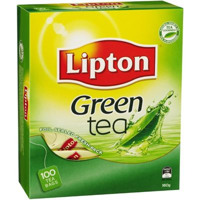 Image for LIPTON TEA GREEN STRING AND TAG PACK 100 from Office National Capalaba