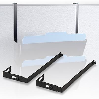 Image for ESSELTE VERTICALMATE PARTITION HANGER CHARCOAL PACK 2 from Office National Capalaba