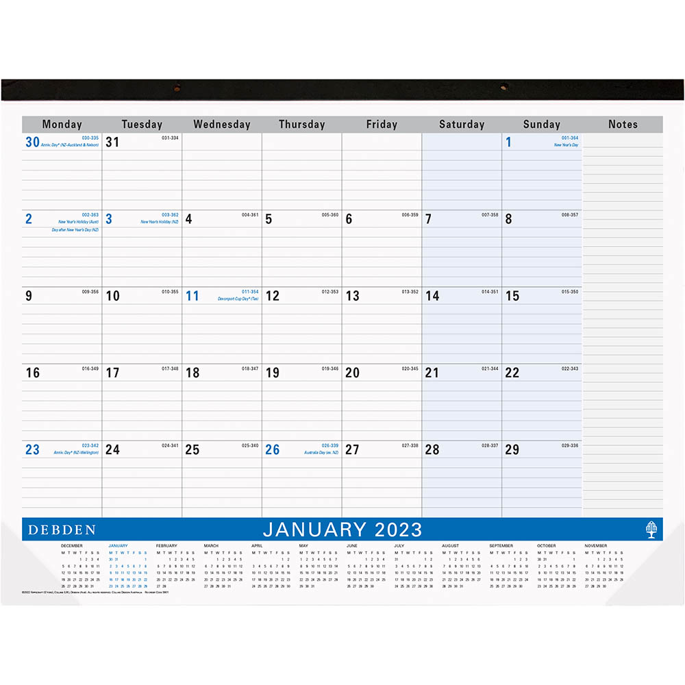 Image for DEBDEN 2021 TABLE TOP PLANNER MONTH TO VIEW 432 X 560MM from Office National Perth CBD