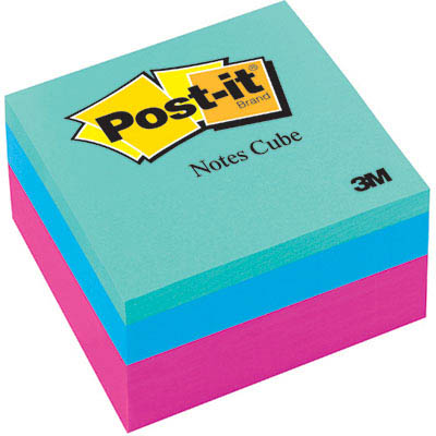Image for POST-IT 2027RCR NOTE CUBE 76 X 76MM SUMMER BRIGHTS from Office National Perth CBD
