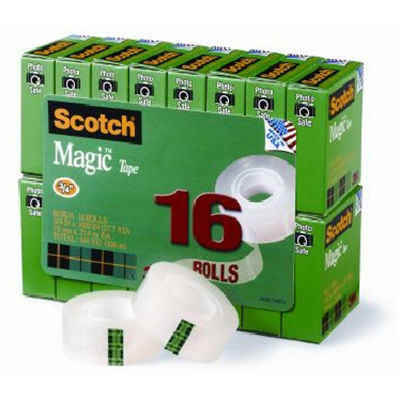 Image for SCOTCH 810 MAGIC TAPE MULTI PACK 19MM X 25M PACK 16 from Axsel Office National