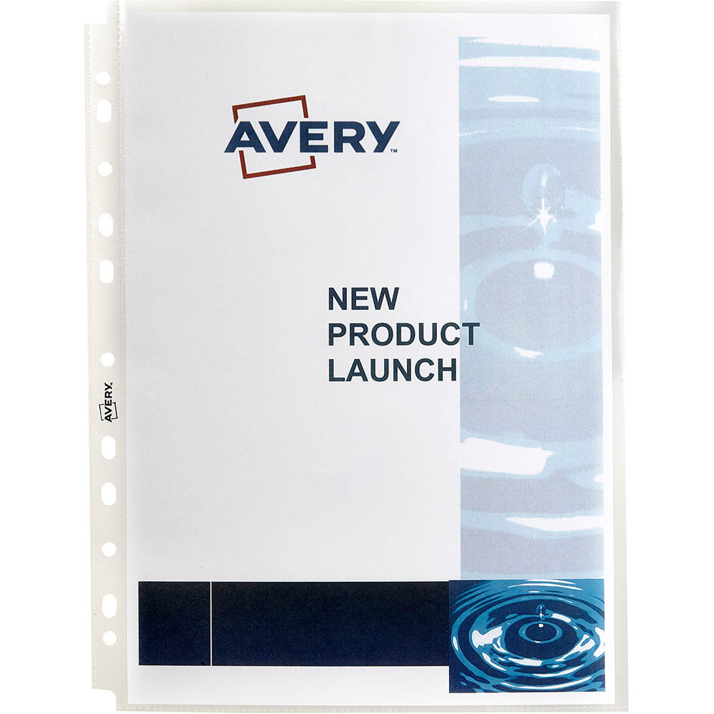 Image for AVERY 47901 SHEET PROTECTOR HEAVY DUTY A4 CLEAR PACK 10 from Office National Perth CBD