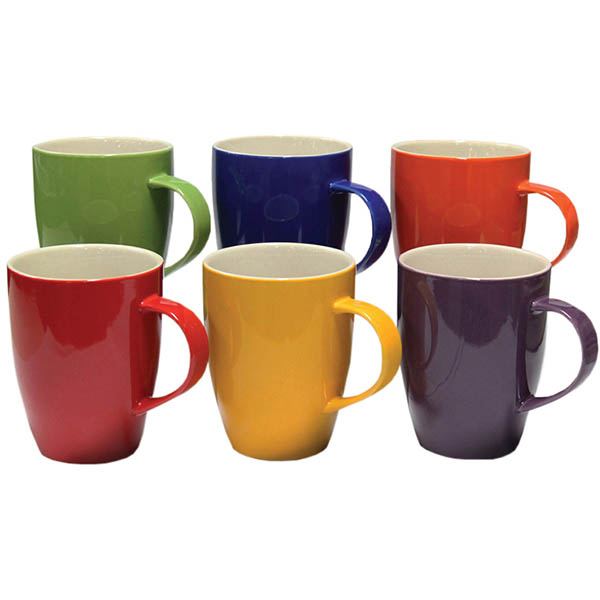 Image for CONNOISSEUR A LA CARTE MUGS 370ML ASSORTED PACK 6 from PaperChase Office National