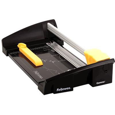 Image for FELLOWES GAMMA ROTARY TRIMMER 20 SHEET A4 BLACK from Office National Capalaba