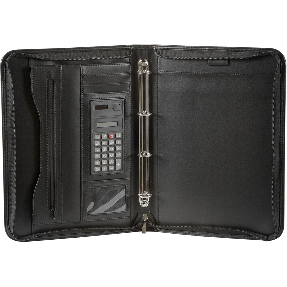 Image for SPIRAX ZIPPERED 4 RING BINDER COMPENDIUM A4 from Mackay Business Machines (MBM)