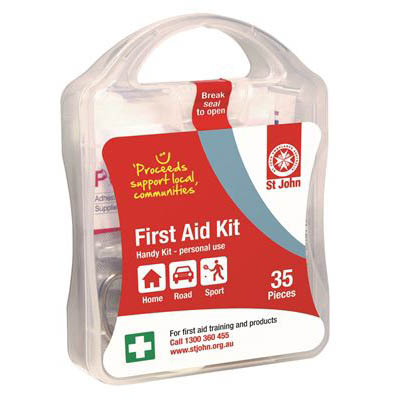 Image for ST JOHN HANDY FIRST AID KIT from OFFICE NATIONAL CANNING VALE, JOONDALUP & OFFICE TOOLS OPD