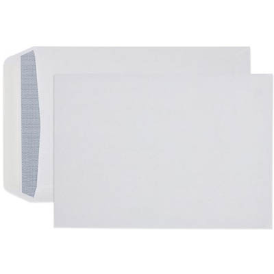 Image for CUMBERLAND C4 ENVELOPES SECRETIVE POCKET PLAINFACE STRIP SEAL 90GSM 324 X 229MM WHITE BOX 250 from Mackay Business Machines (MBM)