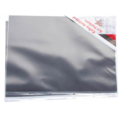 Image for COLBY ART PRESENTATION PORTFOLIO SLEEVE WITH INSERT PAPER PP A2 615 X 450MM CLEAR from Office National Perth CBD
