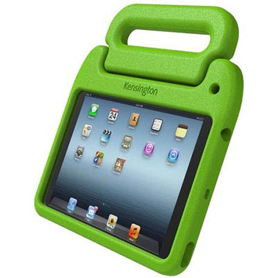 Image for KENSINGTON SAFEGRIP RUGGED CARRY CASE AND STAND FOR IPAD MINI GREEN from Surry Office National