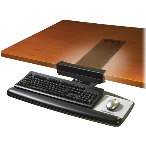 Image for 3M AKT65LE ADJUSTABLE KEYBOARD TRAY BLACK from OFFICE NATIONAL CANNING VALE, JOONDALUP & OFFICE TOOLS OPD