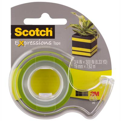Image for SCOTCH C214 EXPRESSIONS MAGIC TAPE LIME GREEN from Office National Capalaba