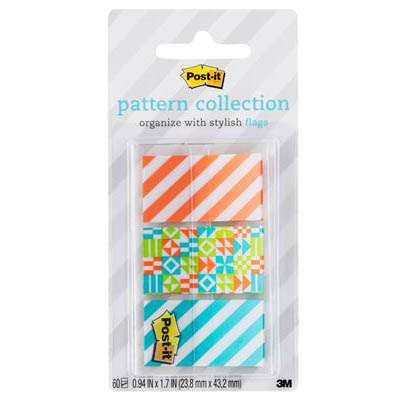 Image for POST-IT 682-GEOS PATTERN FLAGS GEOS COLLECTION ASSORTED PACK 60 from Axsel Office National