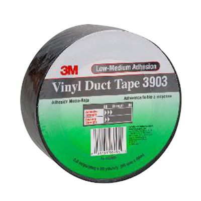 Image for SCOTCH 3903 VINYL TAPE 50.8MM X 45.7M BLACK from Office National Limestone Coast