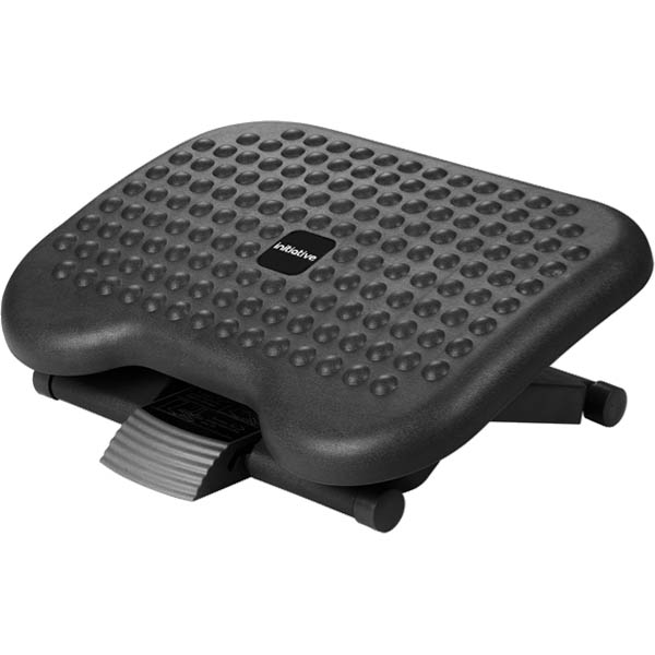 Image for INITIATIVE ANGLE AND HEIGHT ADJUSTABLE FOOTREST BLACK from PaperChase Office National