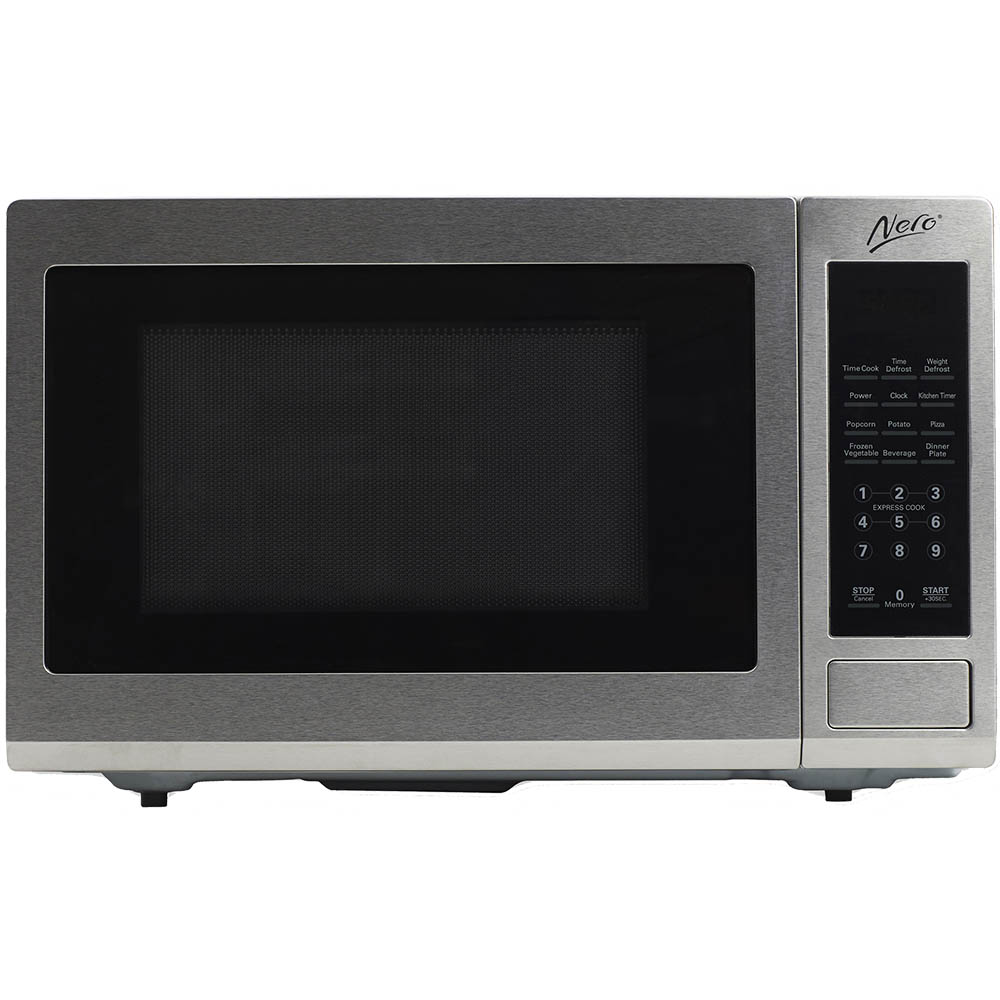 Image for NERO MICROWAVE 900 WATT 30 LITRE STAINLESS STEEL from Office National Hobart