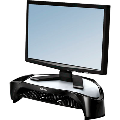 Image for FELLOWES MONITOR RISER PLUS SMART SUITES 101.6 X 477.8 X 328.6MM PLASTIC BLACK from Office National Capalaba
