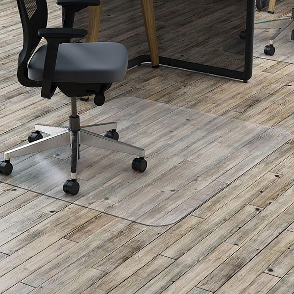 Image for MARBIG TUFFMAT CHAIRMAT POLYCARBONATE HARDFLOOR RECTANGULAR 900 X 1200MM CLEAR from City Stationery Office National