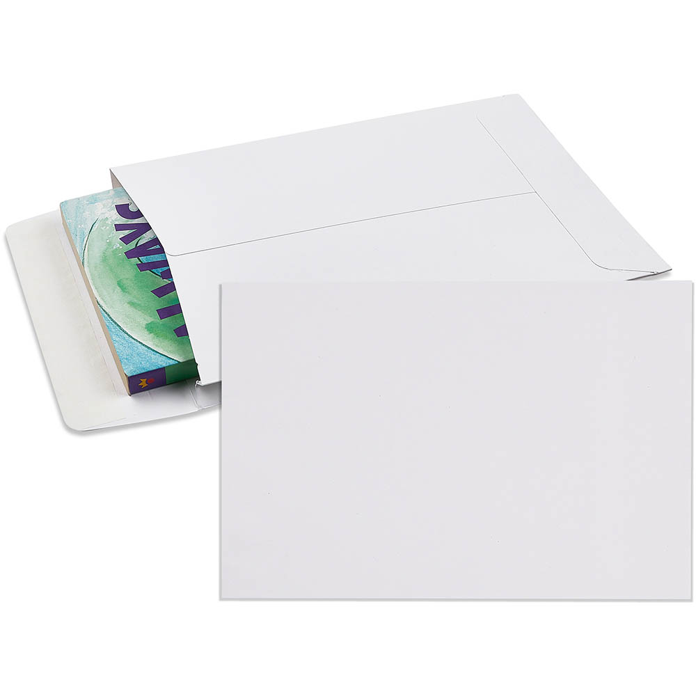 Image for CUMBERLAND ENVELOPES POCKET EXPANDABLE PLAINFACE STRIP SEAL 150GSM 245 X 162MM WHITE PACK 25 from Office National Perth CBD