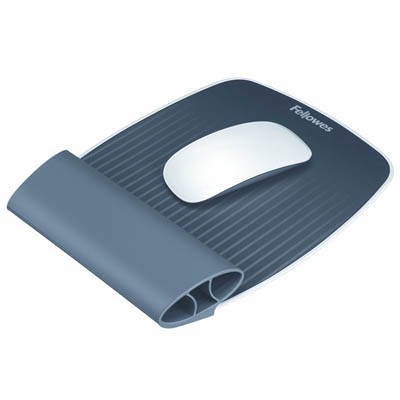 Image for FELLOWES ISPIRE WRIST ROCKER AND MOUSEPAD GREY from PaperChase Office National