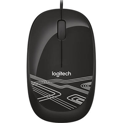 Image for LOGITECH M105 WIRED MOUSE BLACK from Ezi Office Supplies Gold Coast