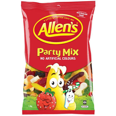 Image for ALLENS PARTY MIX 1.3KG from Office National Capalaba