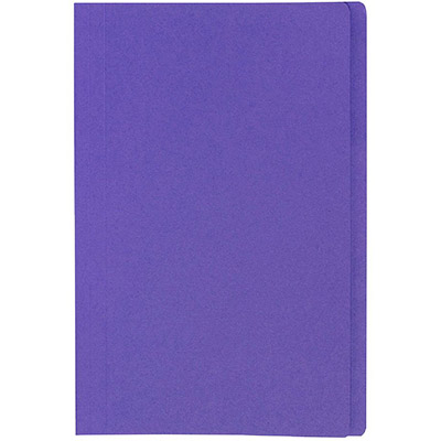 Image for MARBIG MANILLA FOLDER FOOLSCAP PURPLE BOX 100 from Mackay Business Machines (MBM)