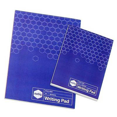 Image for MARBIG SOCIAL WRITING PAD 100 LEAF A4 from Axsel Office National