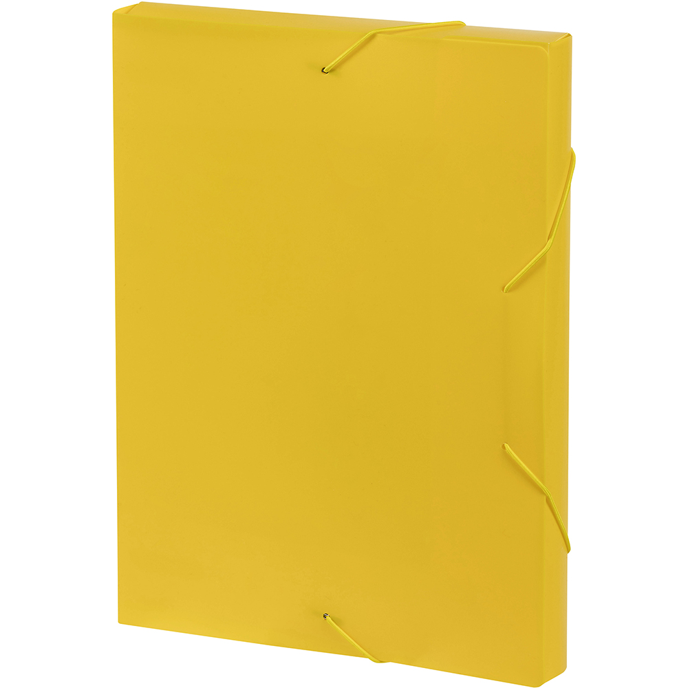 Image for MARBIG DOCUMENT BOX A4 YELLOW from Mackay Business Machines (MBM)