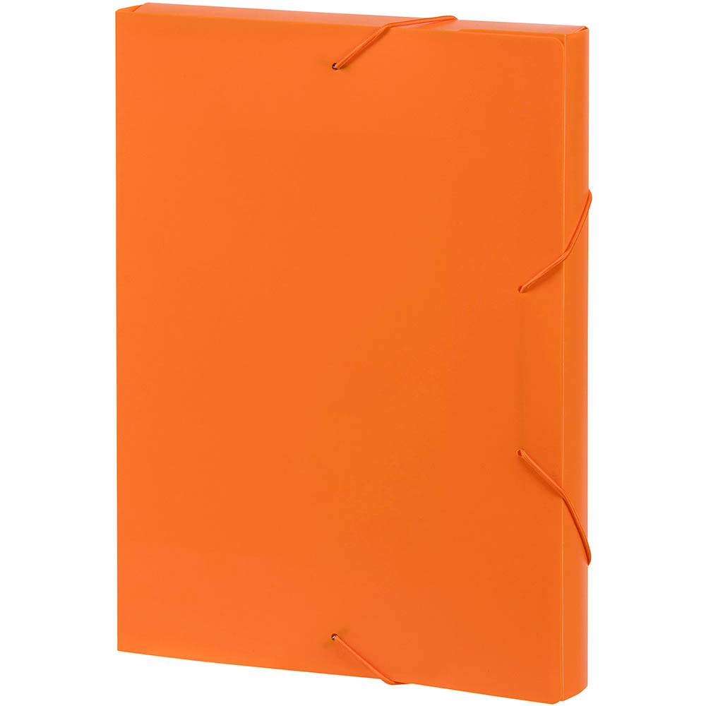 Image for MARBIG DOCUMENT BOX A4 ORANGE from Our Town & Country Office National