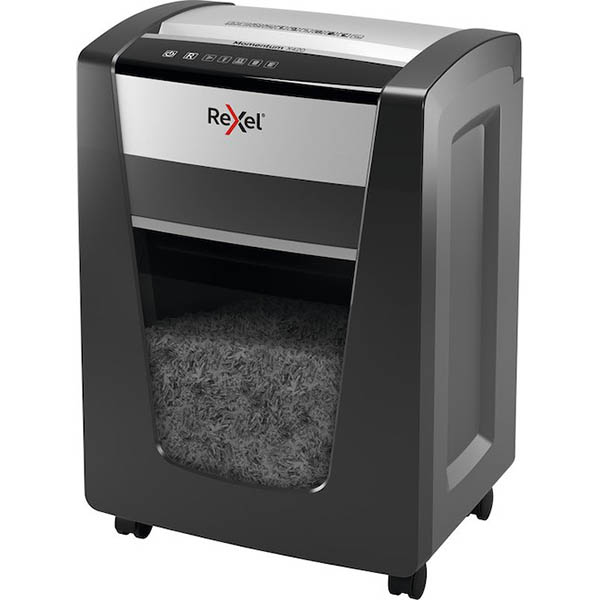 Image for REXEL MOMENTUM X420 MANUAL FEED CROSS CUT SHREDDER from Emerald Office Supplies