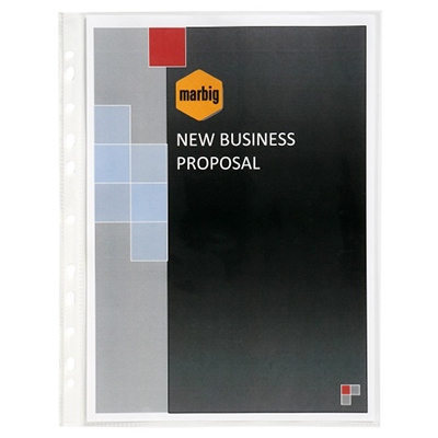 Image for MARBIG DELUXE COPYSAFE SHEET PROTECTORS A3 PACK 25 from Ezi Office National Tweed
