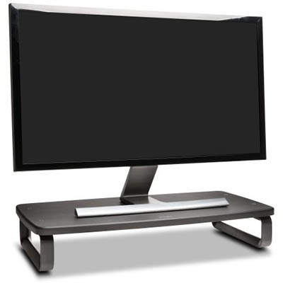 Image for KENSINGTON SMARTFIT MONITOR STAND WIDE BLACK from Office National Capalaba
