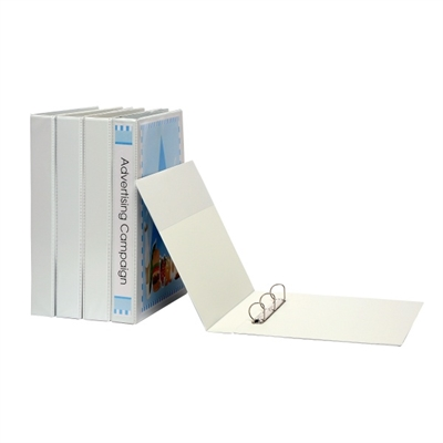 Image for MARBIG INSERT RING BINDER PVC LANDSCAPE 3D 25MM A3 WHITE from Axsel Office National
