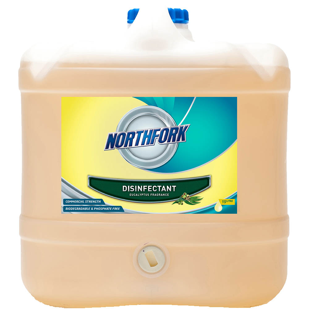 Image for NORTHFORK EUCALYPTUS DISINFECTANT 15 LITRE from Office National Capalaba