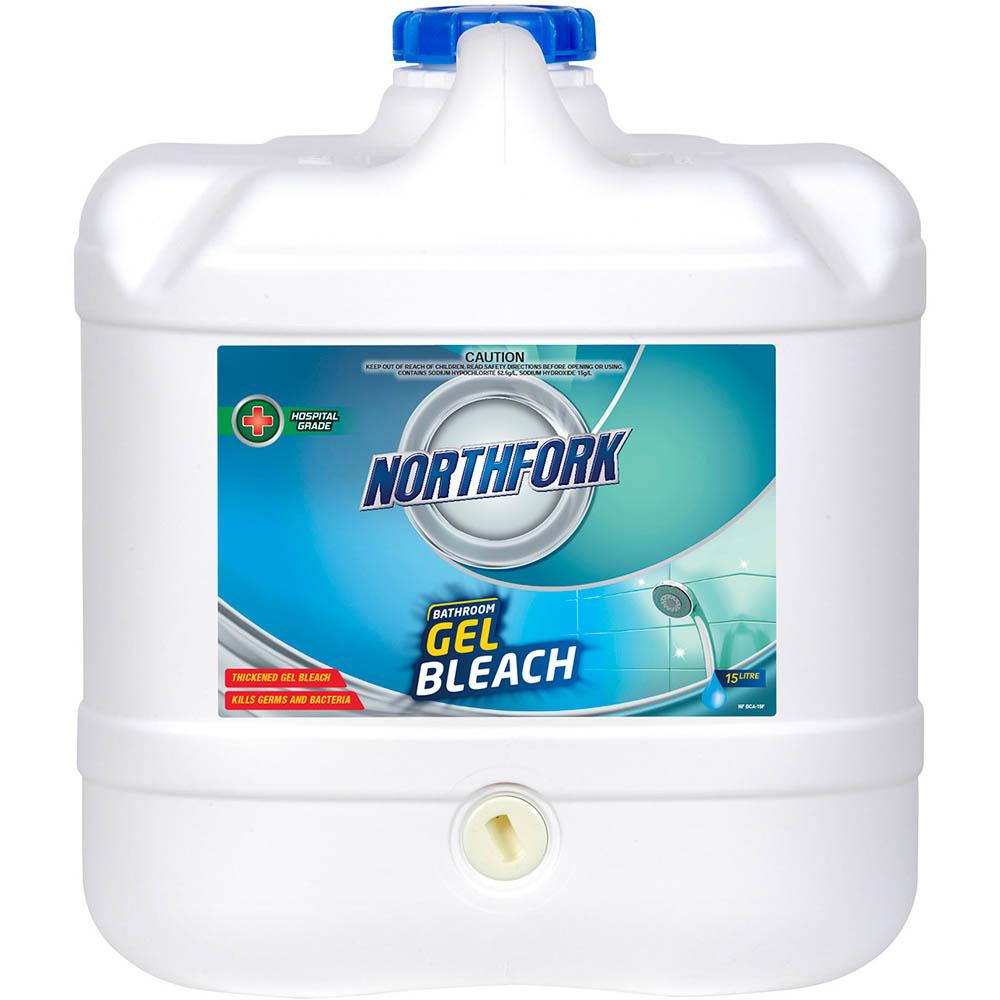 Image for NORTHFORK BATHROOM GEL BLEACH 15 LITRE from Office National Capalaba