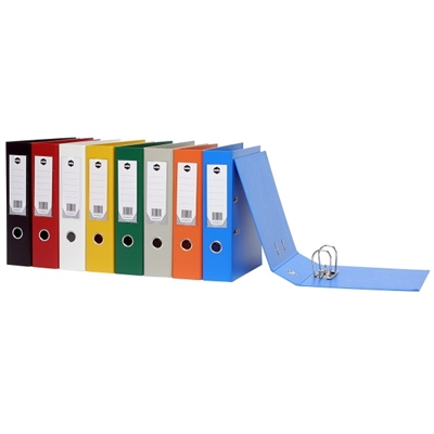 Image for MARBIG LEVER ARCH FILE PVC 75MM FOOLSCAP GREY from Axsel Office National