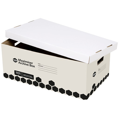 Image for MARBIG MAXIMISER ARCHIVE BOX W390 X L620 X H260MM from Office National Perth CBD