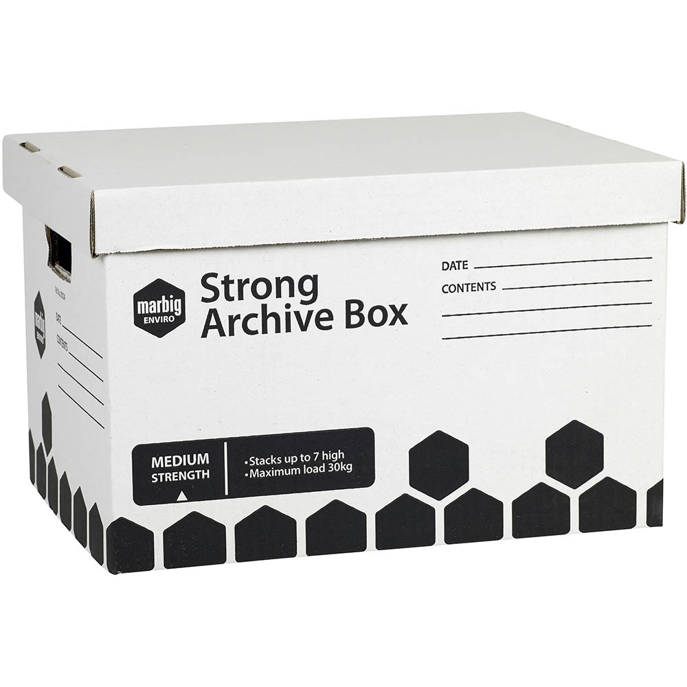 Image for MARBIG STRONG ARCHIVE BOX 420 X 320 X 260MM from Office National Perth CBD