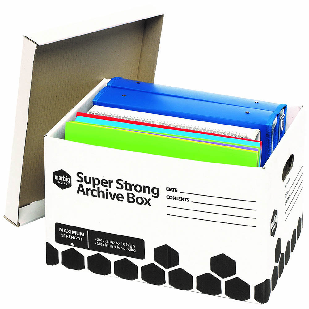 Image for MARBIG SUPER STRONG ARCHIVE BOX 320 X 420 X 260MM from Office National Perth CBD