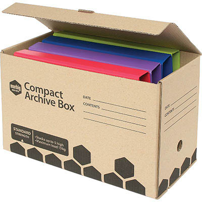 Image for MARBIG ENVIRO COMPACT ARCHIVE BOX 410 X 180 X 260MM from Paul John Office National