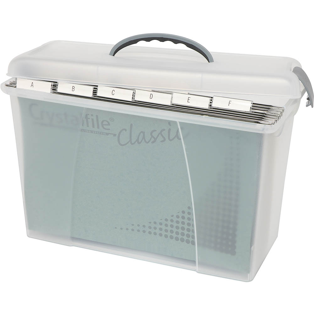 Image for CRYSTALFILE CARRY CASE CLEAR LID / CLEAR BASE from Copylink Office National