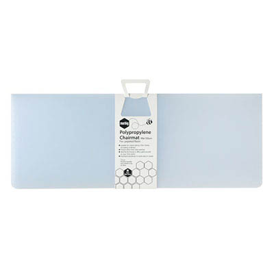 Image for MARBIG CHAIRMAT PP RECTANGULAR MEDIUM PILE CARPET 1200 X 1500MM FROSTY ICE from OFFICE NATIONAL CANNING VALE, JOONDALUP & OFFICE TOOLS OPD