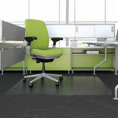 Image for MARBIG ENVIRONMAT CHAIRMAT PET RECTANGULAR LOW PILE CARPET 1160 X 1520MM from Emerald Office Supplies