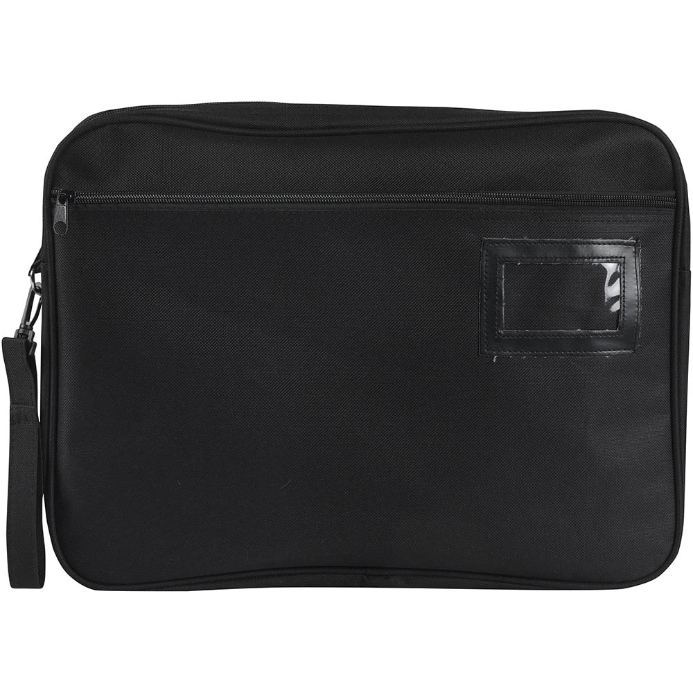 Image for MARBIG EXPANDING CONVENTION SATCHEL 410 X 330 X 41MM BLACK from Office National Hobart