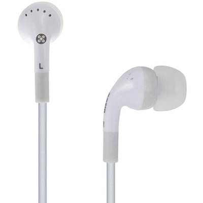 Image for MOKI STEREO EARPHONES NOISE ISOLATION WHITE from OFFICE NATIONAL CANNING VALE, JOONDALUP & OFFICE TOOLS OPD
